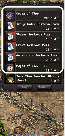 GC Instance NPC items